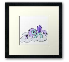 My Little Unicorn-Cat Framed Print