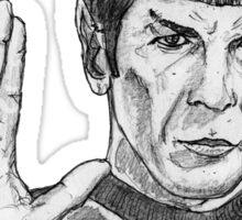 Spock Sticker