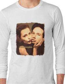 Gillian and David - Schmoopies Long Sleeve T-Shirt