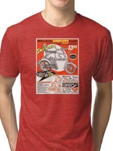 VW hotrod parts dream bike Tri-blend T-Shirt