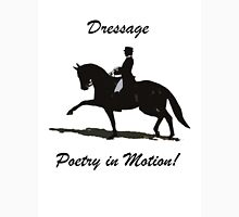 Dressage- Poetry in Motion  Womens Fitted T-Shirt