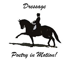 Dressage- Poetry in Motion  Photographic Print