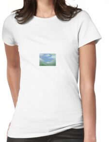 Call me Bob Ross Womens Fitted T-Shirt