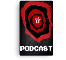 One Up Gaming Podcast Logo Canvas Print