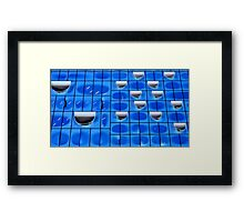 Facade of the Elb Philharmonic Hall in Hamburg Framed Print