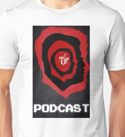 One Up Gaming Podcast Logo Unisex T-Shirt