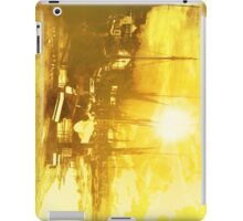 Boats At Sundown  iPad Case/Skin