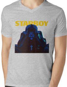 Weekend X Starboy Mens V-Neck T-Shirt