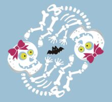 Maternity Skeleton Twin Girls Kids Clothes