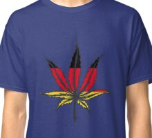 Cannabis (marijuana) leaf flat icon, Classic T-Shirt
