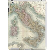 Vintage Map of Italy (1799)  iPad Case/Skin