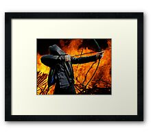 Renegade Arminian's Fire & Arrows Framed Print