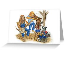 Bluegrass in the Barn Greeting Card