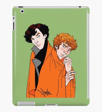 Crash Landings and Shock Blankets iPad Case/Skin