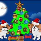 Christmas Pups (1590 Views) by aldona