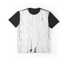 peeling white paint texture Graphic T-Shirt