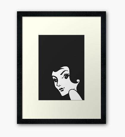 Brunette - Redheads Framed Print