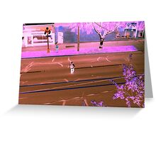 Pondering Perspectives Greeting Card