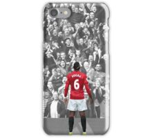 Paul Pogba's Back iPhone Case/Skin
