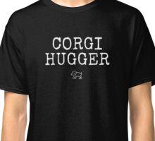 Corgi Hugger Dog Design Classic T-Shirt