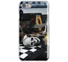 human skeleton, car tuning iPhone Case/Skin