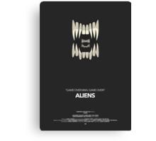 Aliens Movie Poster Canvas Print