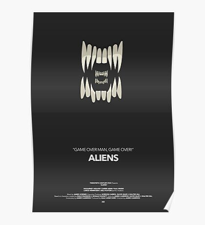 Aliens Movie Poster Poster