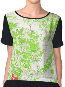 USGS TOPO Map Arkansas AR Pocahontas 259422 1966 24000 Chiffon Top