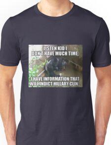 Harambe on Clinton Unisex T-Shirt