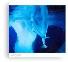 Beluga Buddies Canvas Print