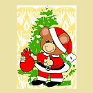Teddy in Santa's Clothes (6679 Views) by aldona