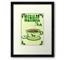 Green tea (9752 Views) Framed Print