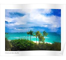 Miami Beach Bleau Poster