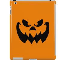 Scary Pumpkin Jack-o-lantern iPad Case/Skin