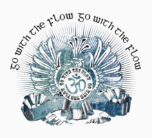 Go with the Flow Griffin & Slogan One Piece - Long Sleeve