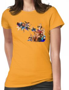 Tripping on Time and Space Womens Fitted T-Shirt