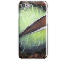Conker in the leaves iPhone Case/Skin