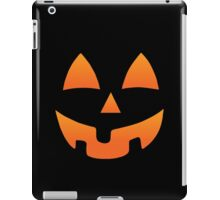 Pumpkin Halloween Jack O Lantern Face iPad Case/Skin