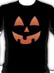 Pumpkin Halloween Jack O Lantern Face T-Shirt