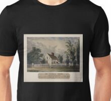 640 Van Tassel's house Vide Legend of Sleepy Hollow Recently purchased by Washington Irving Esq to improve for a summer residence Unisex T-Shirt