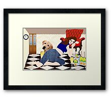 Too Much Wine (2233 views) Framed Print