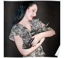 Kitten Love - Self Portrait w/Mikino Poster