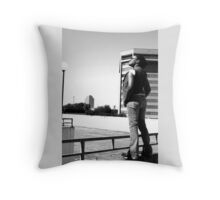 I'll burn this city down...to show you the light Throw Pillow