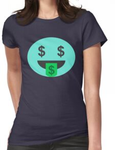 Greedy Candy  Womens Fitted T-Shirt