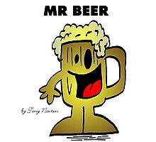 MR. BEER Photographic Print