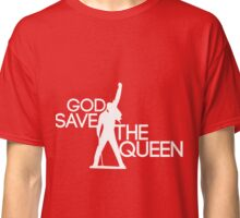 God save the queen Freddie Mercury design Classic T-Shirt