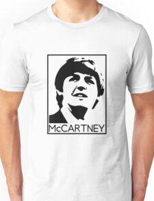 Silueta de Paul Mccartney Unisex T-Shirt