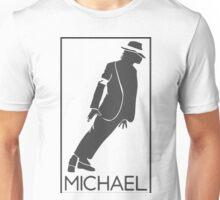 Silueta de el Rey del pop Michael Jackson Unisex T-Shirt