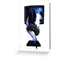 Sadako Megadrive Greeting Card