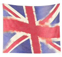 United Kingdom Watercolor Wall Tapestry